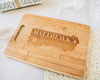 Custom Engraved Rectangle Bamboo Cutting Board, Sparkle Design