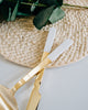 Kate Spade Love Me Knot Gold Wedding Cake Knife & Server Set
