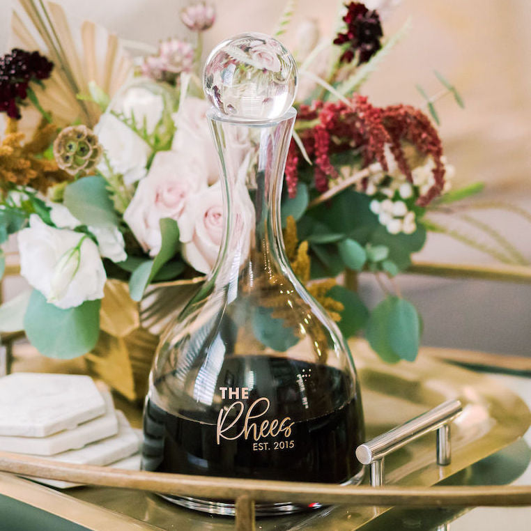Lenox Tuscany Aerating Crystal Wine Decanter