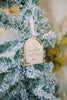 Our First Home Custom Christmas Ornament '20, Acrylic or Wood