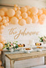 "Wedding Package - 42"" Custom Last Name Wedding Backdrop Sign & Welcome Sign"