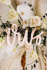 "42"" First Name Wedding Backdrop Sign, Acrylic - Darling Collection"