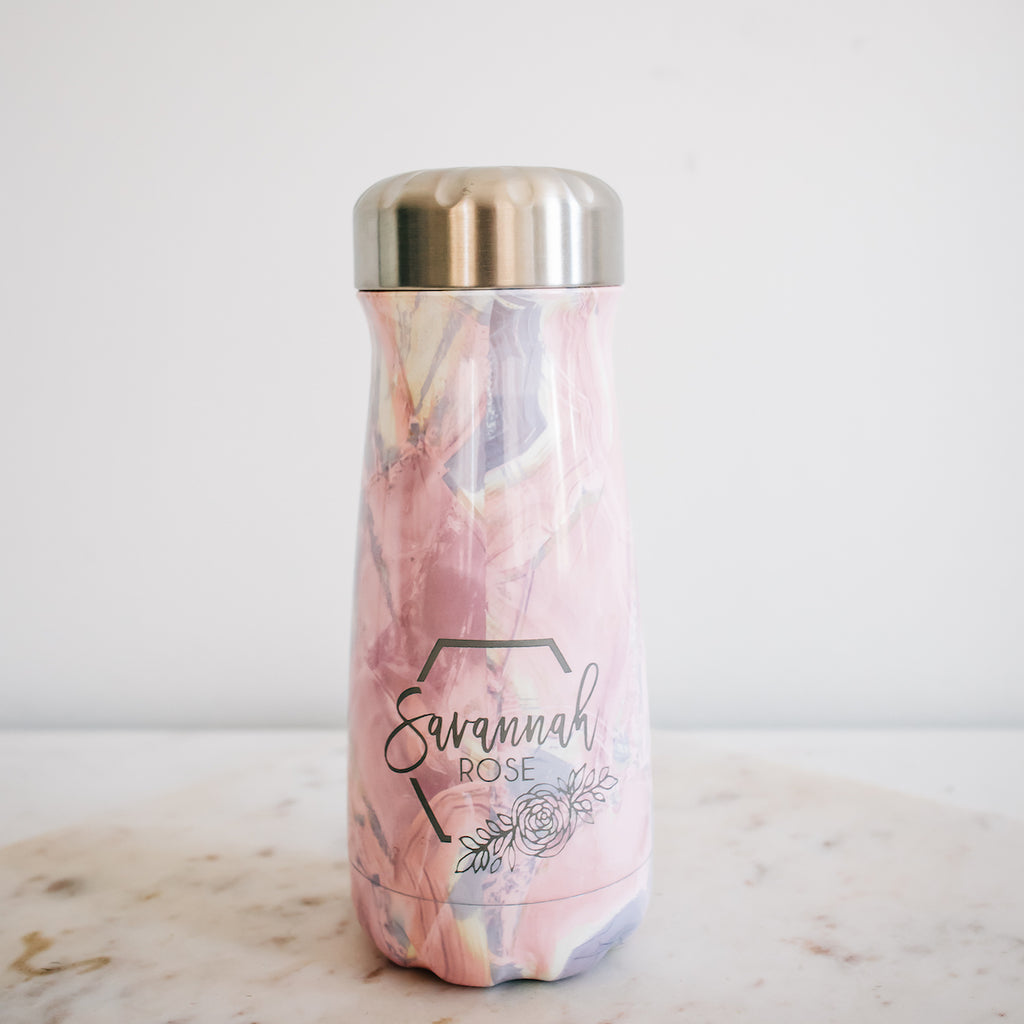 S'well Traveler Bottle, Geode Rose
