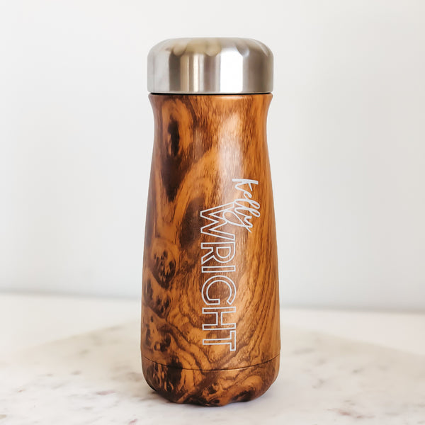 S'well Traveler Bottle, Teakwood