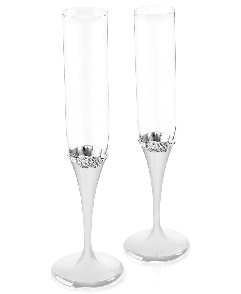 a6a9b7102973 Vera Wang Infinity Toasting Flutes, Set of 2 – Happily Ever Etched