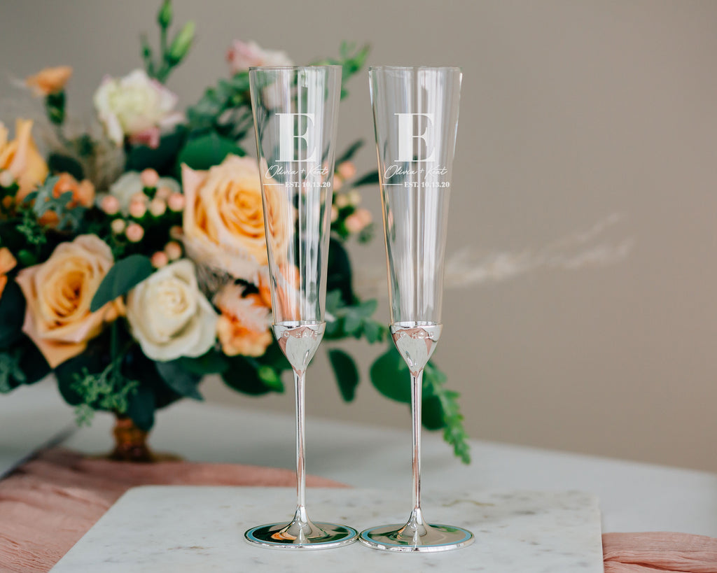 Kate Spade Take The Cake Champagne Flute Pair
