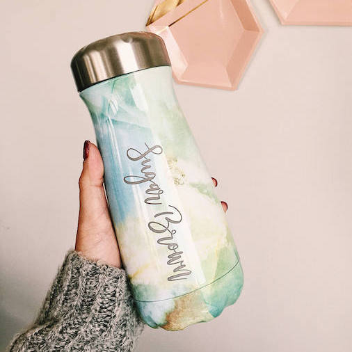 S'well Traveler Bottle, Opal Marble