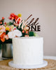 "5"" Wild One Birthday Cake Topper - Malibu, Acrylic or Wood"