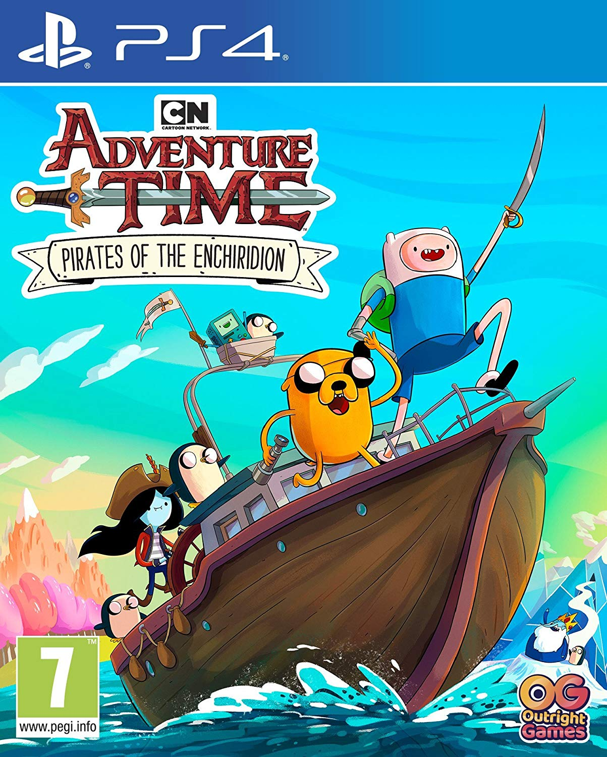 Adventure Time Pirates of The Enchiridion PS4, PS4, DVDMEGASTORE, DVDMEGASTORE