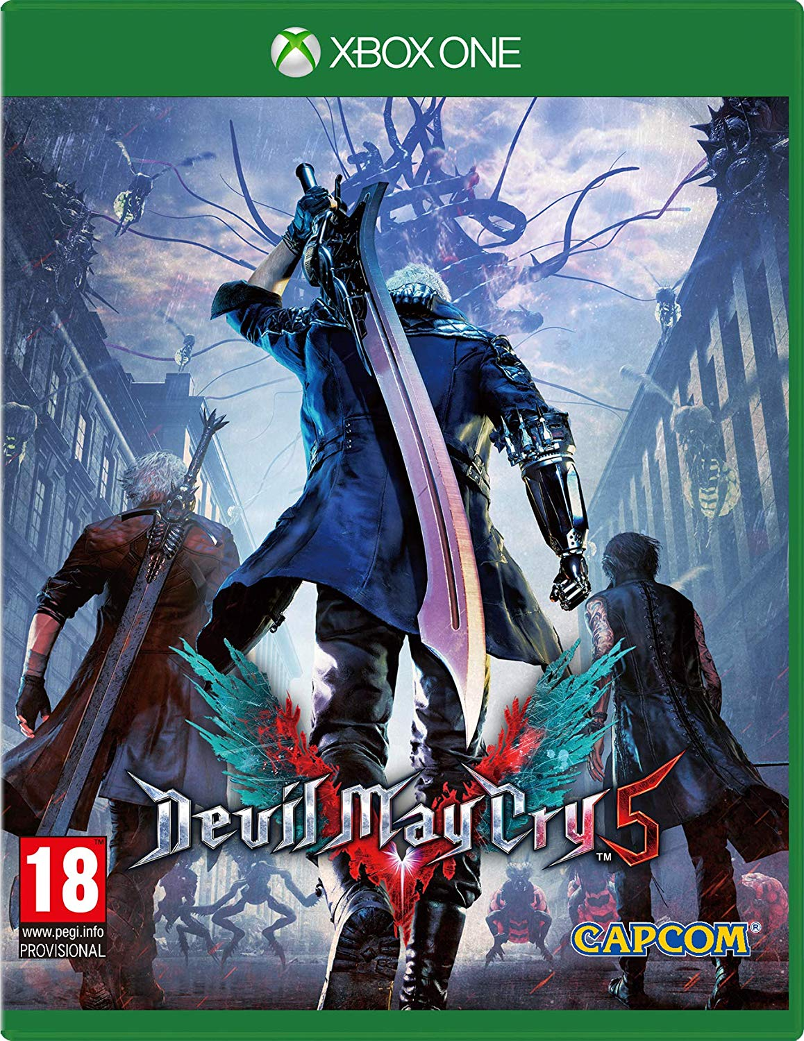 Devil May Cry 5 Xbox One, XBOX ONE, DVDMEGASTORE, DVDMEGASTORE