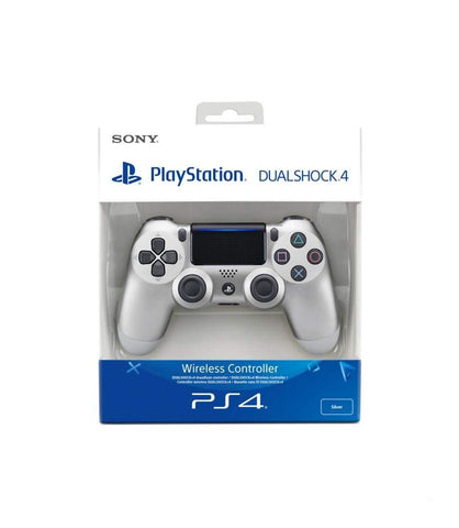 Sony PlayStation DualShock 4 Controller - Silver, Controller, DVDMEGASTORE, DVDMEGASTORE