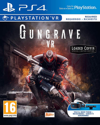 GUNGRAVE VR 'Loaded Coffin Edition' PS4, PS4, DVDMEGASTORE, DVDMEGASTORE