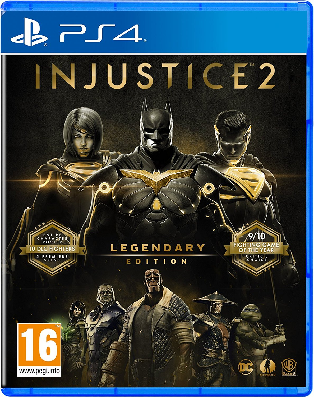 Injustice 2 - Legendary Edition PS4, PS4, DVDMEGASTORE, DVDMEGASTORE