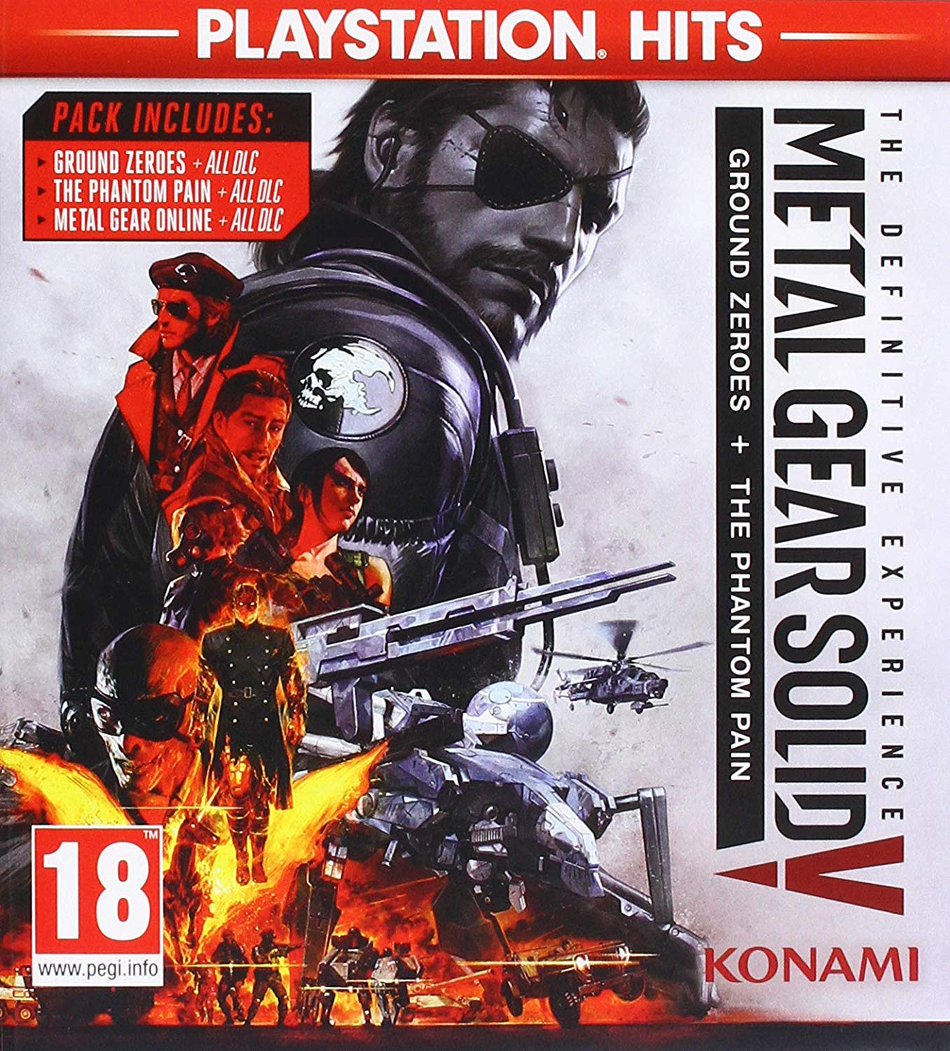 Metal Gear Solid V: The Definitive Experience PS4, PS4, DVDMEGASTORE, DVDMEGASTORE