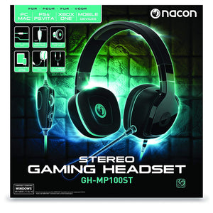 Nacon GH-MP100ST Stereo Gaming Headset Multi PS4