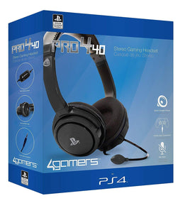 Official Licensed PRO4-40 Stereo Gaming Headset - PS4