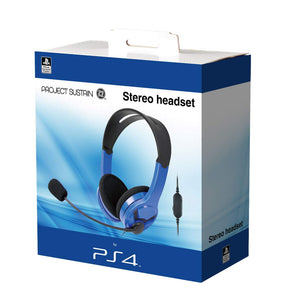 Official PS4 Stereo Headset - Blue PS4