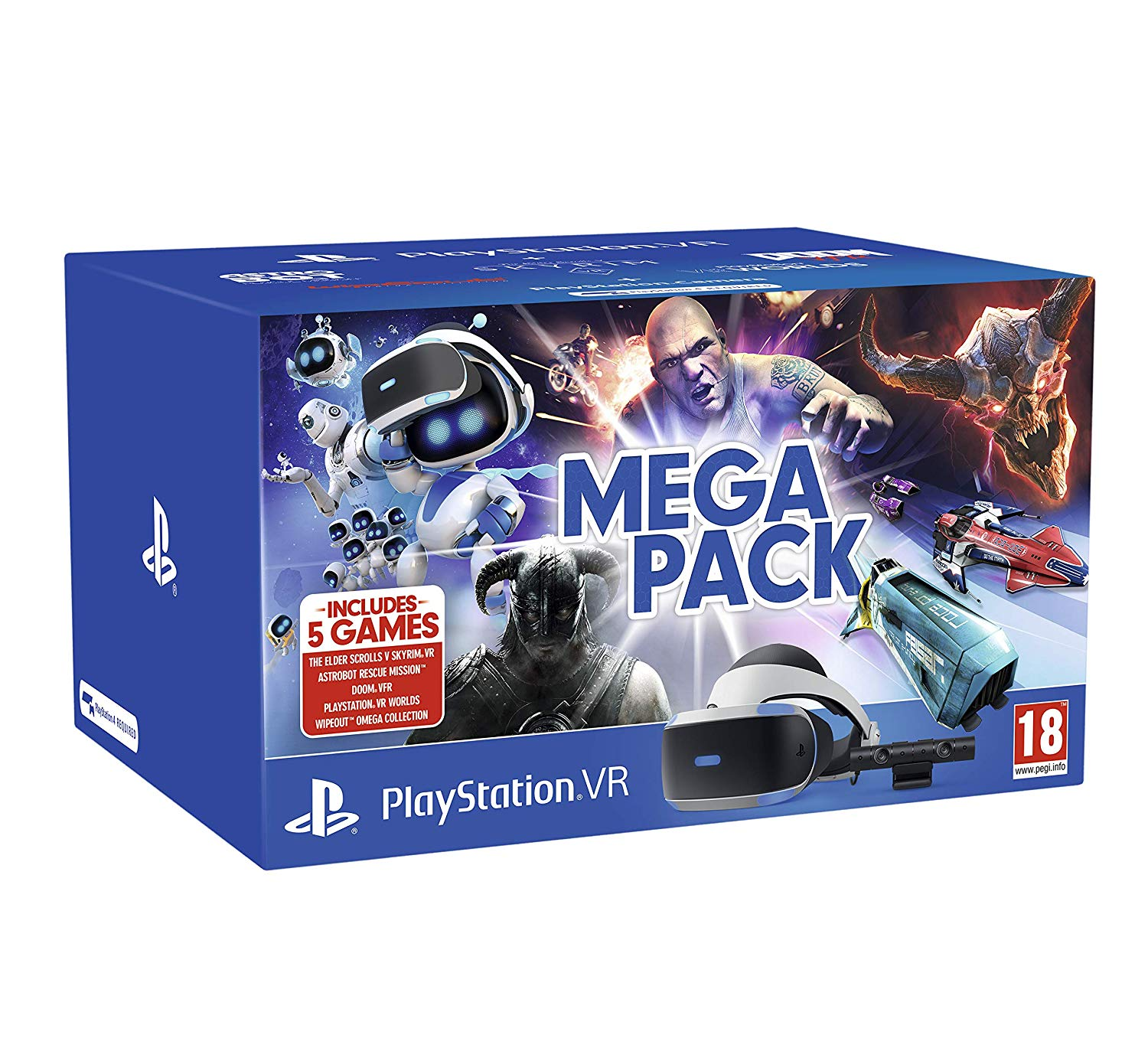 PlayStation VR Mega Pack PS4