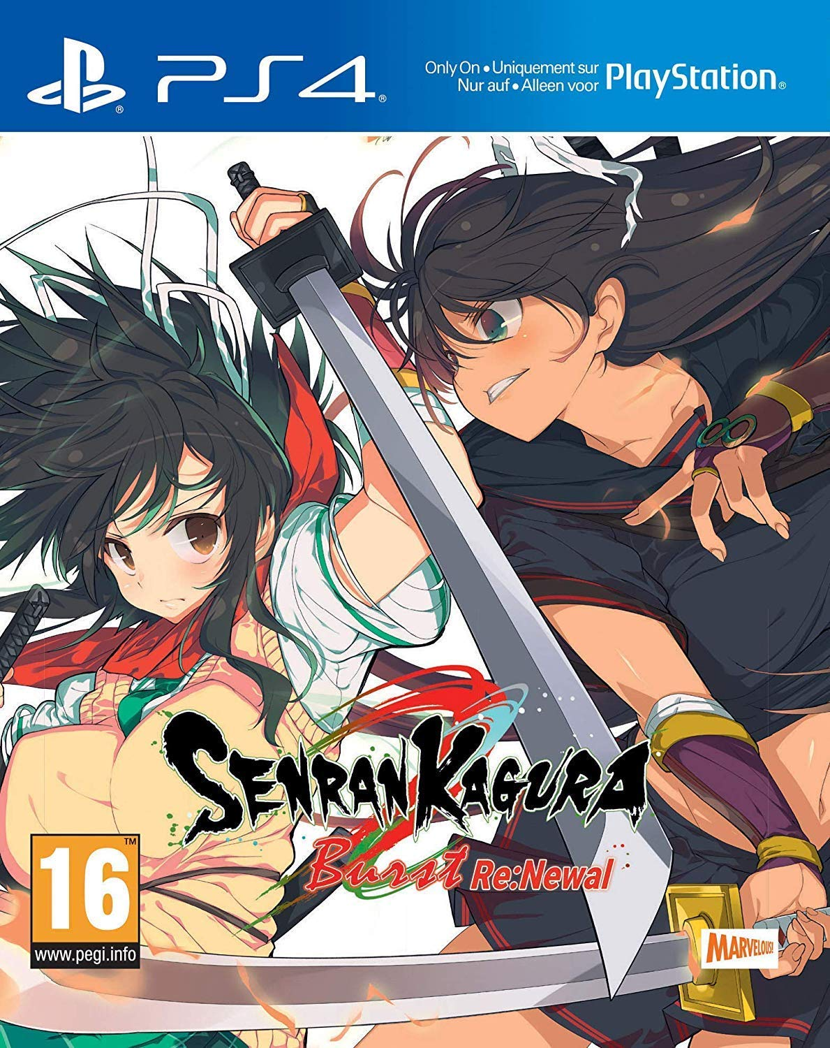 SENRAN KAGURA Burst Re:Newal PS4