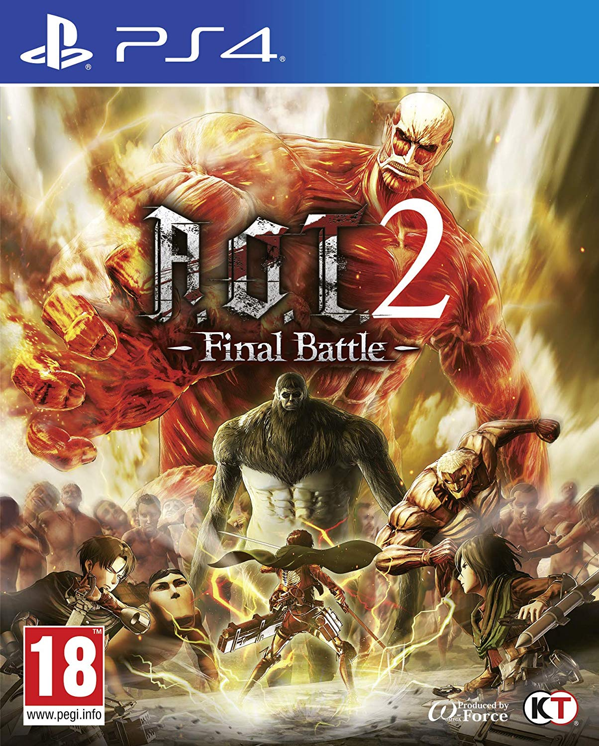 A.O.T.2 Final Battle PS4, PS4, DVDMEGASTORE, DVDMEGASTORE