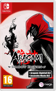 Aragami: Shadow Edition Nintendo Switch, Nintendo Switch, DVDMEGASTORE, DVDMEGASTORE