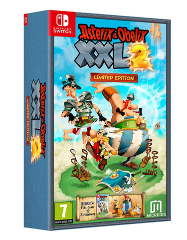 Asterix and Obelix XXL2 Limited Edition Nintendo Switch, Nintendo Switch, DVDMEGASTORE, DVDMEGASTORE