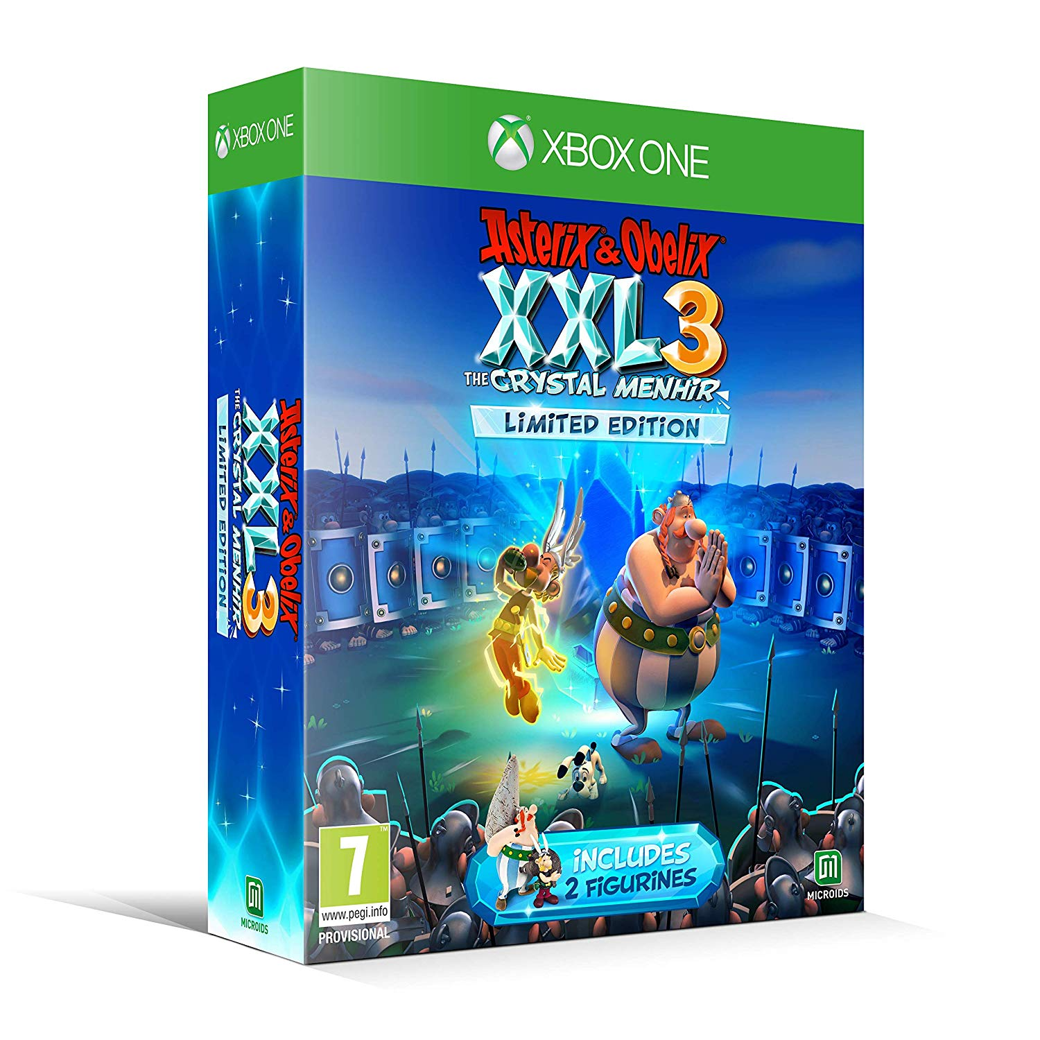 Asterix & Obelix XXL 3: The Crystal Menhir - Xbox One, XBOX ONE, DVDMEGASTORE, DVDMEGASTORE