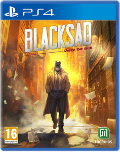 Blacksad: Under the Skin - Limited Edition, PS4, DVDMEGASTORE, DVDMEGASTORE