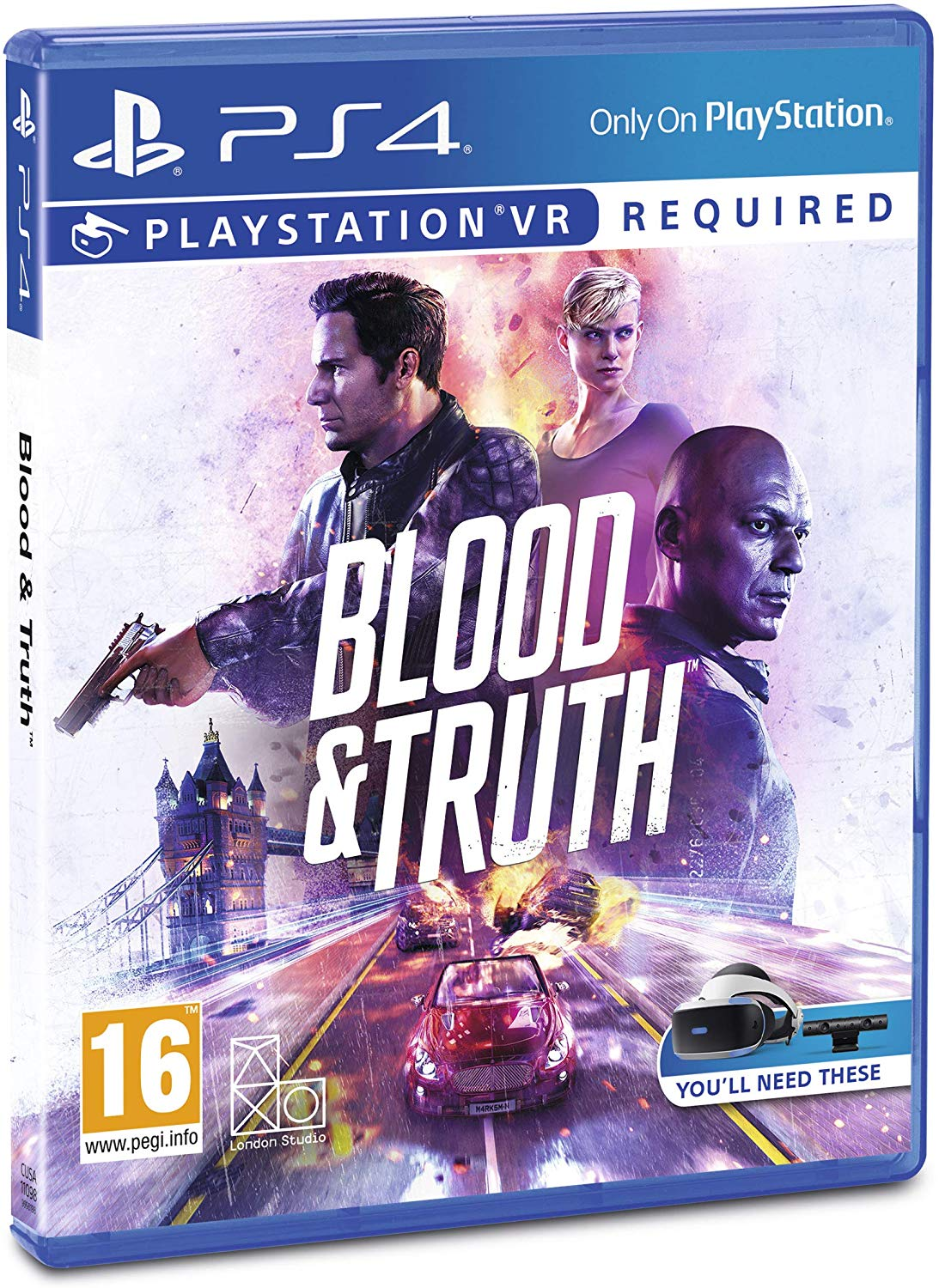 Blood & Truth PS VR PS4, PS4, DVDMEGASTORE, DVDMEGASTORE
