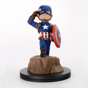 Captain America - Civil War (Marvel) Q-Fig Figure, Merchandise, DVDMEGASTORE, DVDMEGASTORE