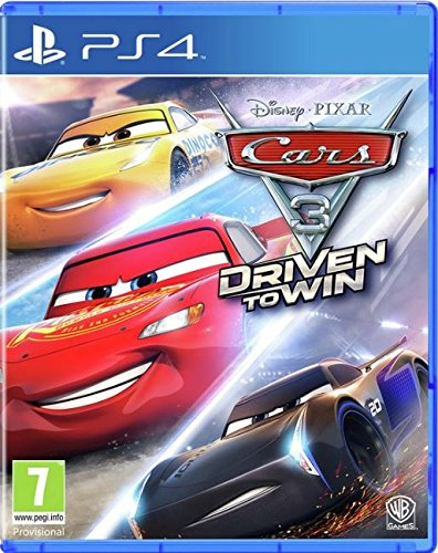 Cars 3 Driven to Win PS4, PS4, DVDMEGASTORE, DVDMEGASTORE