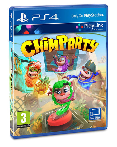 Chimparty PS4, PS4, DVDMEGASTORE, DVDMEGASTORE