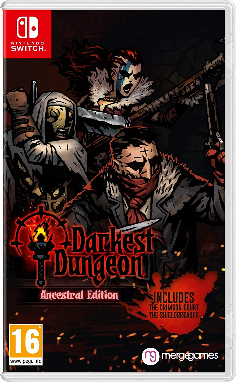 Darkest Dungeon: Ancestral Edition Nintendo Switch, Nintendo Switch, DVDMEGASTORE, DVDMEGASTORE