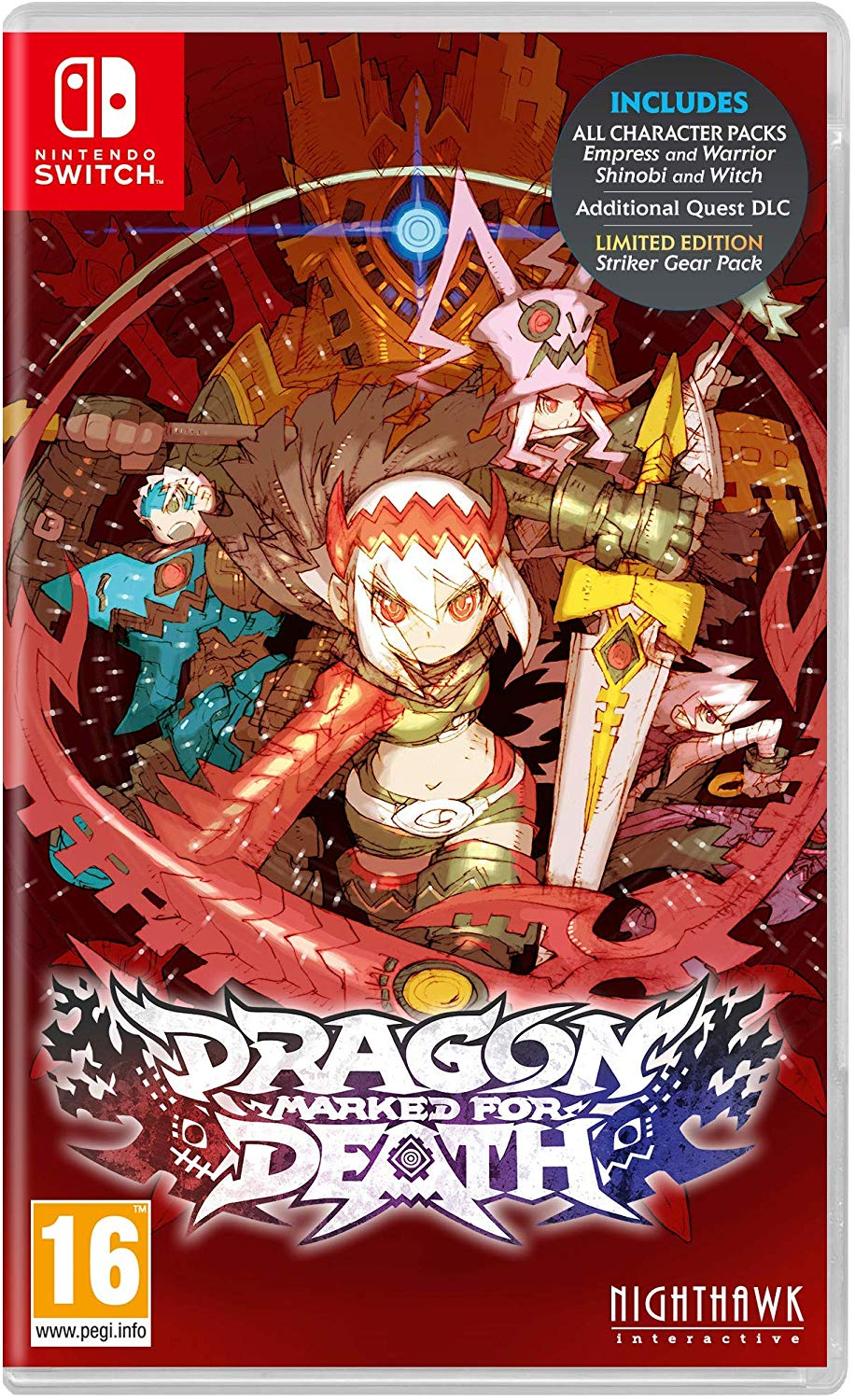 Dragon Marked for Death Nintendo Switch, Nintendo Switch, DVDMEGASTORE, DVDMEGASTORE
