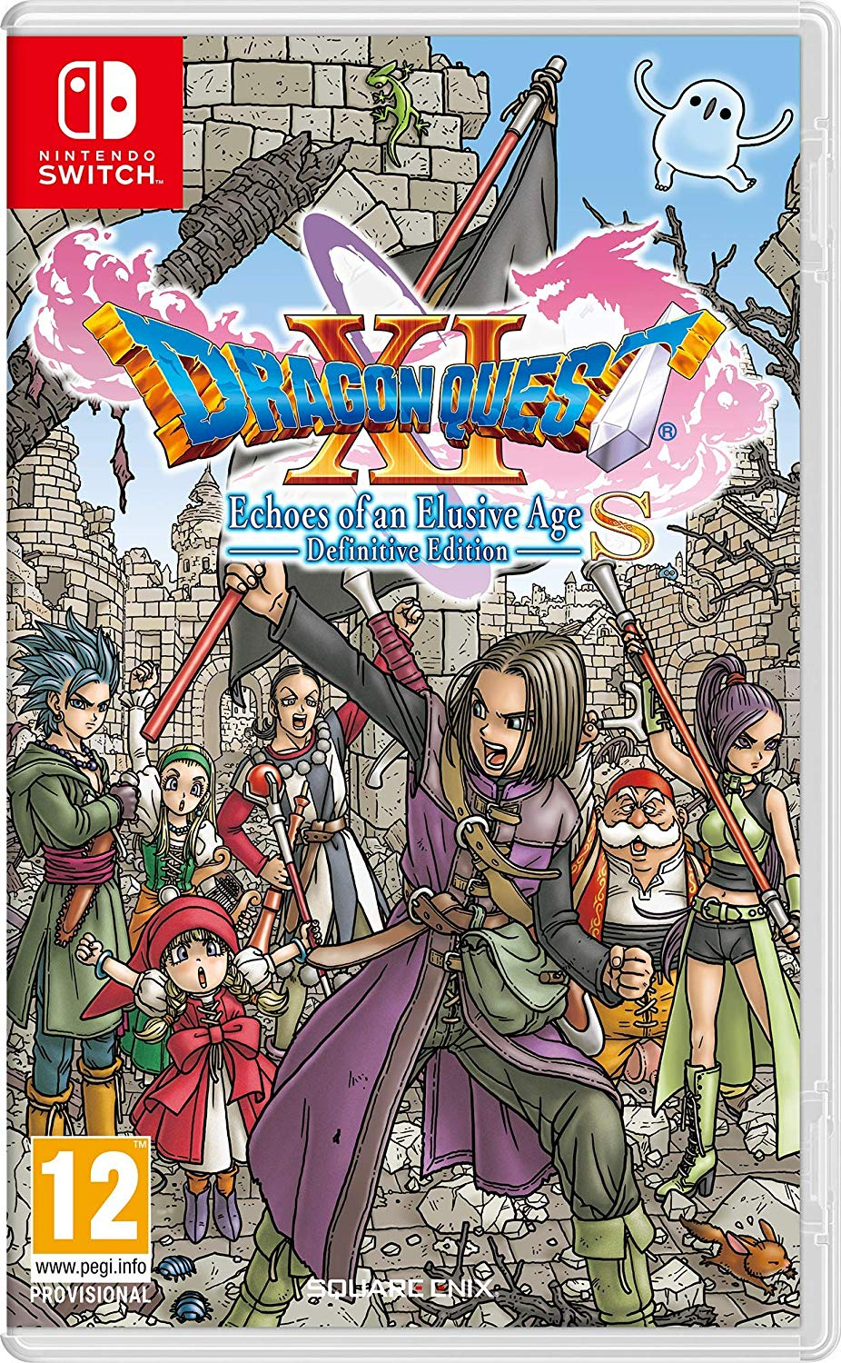 Dragon Quest XI S: Echoes of an Elusive Age - Definitive Edition - Nintendo Switch, Nintendo Switch, DVDMEGASTORE, DVDMEGASTORE