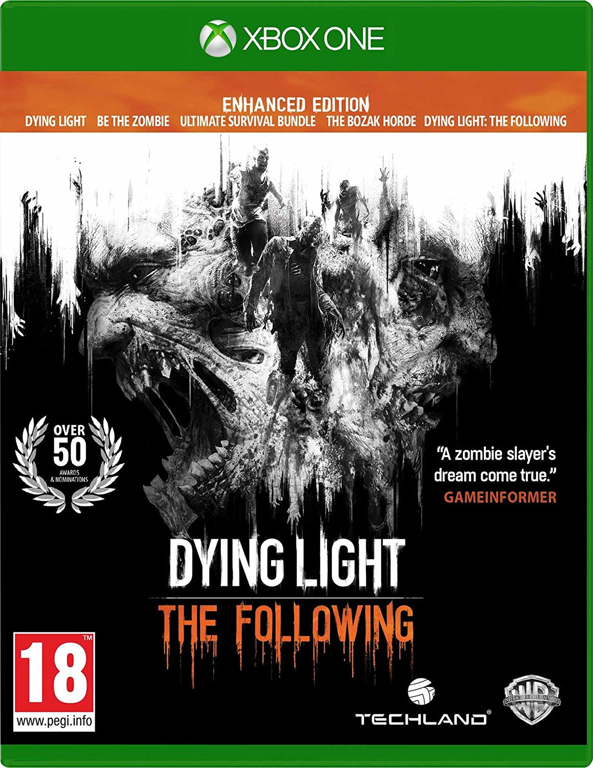 Dying Light: The Following Enhanced Edition XBOX ONE, XBOX ONE, DVDMEGASTORE, DVDMEGASTORE
