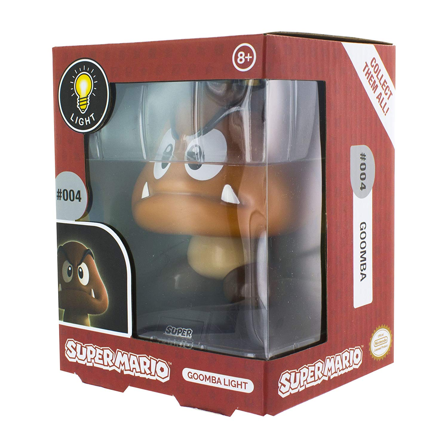Super Mario Goomba 3D Light, Multi-Colour, Merchandise, DVDMEGASTORE, DVDMEGASTORE