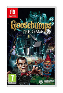 Goosebumps The Game Nintendo Switch, Nintendo Switch, DVDMEGASTORE, DVDMEGASTORE