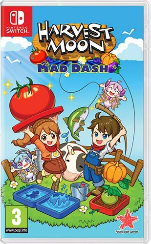 Harvest Moon: Mad Dash (Nintendo Switch), Nintendo Switch, DVDMEGASTORE, DVDMEGASTORE