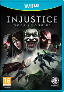 Injustice Gods Among Us Nintendo Wii