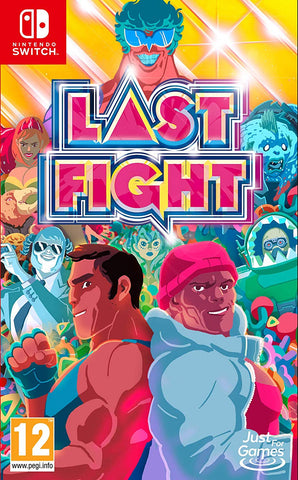 Lastfight (Nintendo Switch), Nintendo Switch, DVDMEGASTORE, DVDMEGASTORE