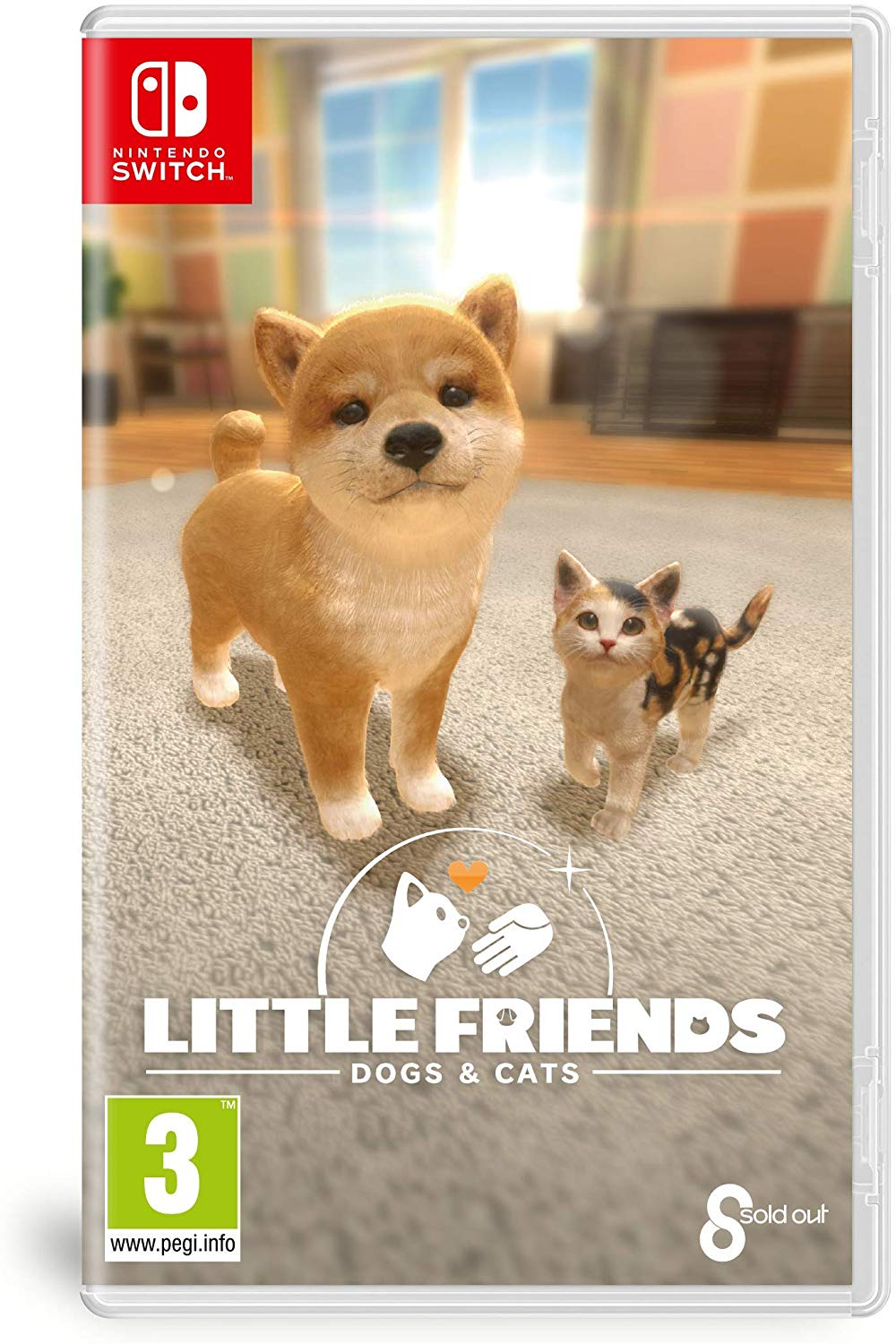 Little Friends: Dogs & Cats Nintendo Switch, Nintendo Switch, DVDMEGASTORE, DVDMEGASTORE