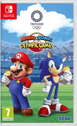Mario and Sonic at the Olympic Games Tokyo 2020, Nintendo Switch, DVDMEGASTORE, DVDMEGASTORE
