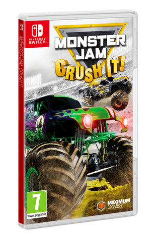 Monster Jam: Crush It! Nintendo Switch, Nintendo Switch, DVDMEGASTORE, DVDMEGASTORE