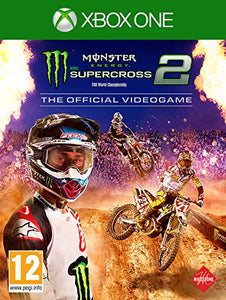 Monster Energy Supercross - The Official Video Game 2 Xbox One, XBOX ONE, DVDMEGASTORE, DVDMEGASTORE