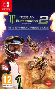 Monster Energy Supercross - The Official Video Game 2 Nintendo Switch, Nintendo Switch, DVDMEGASTORE, DVDMEGASTORE
