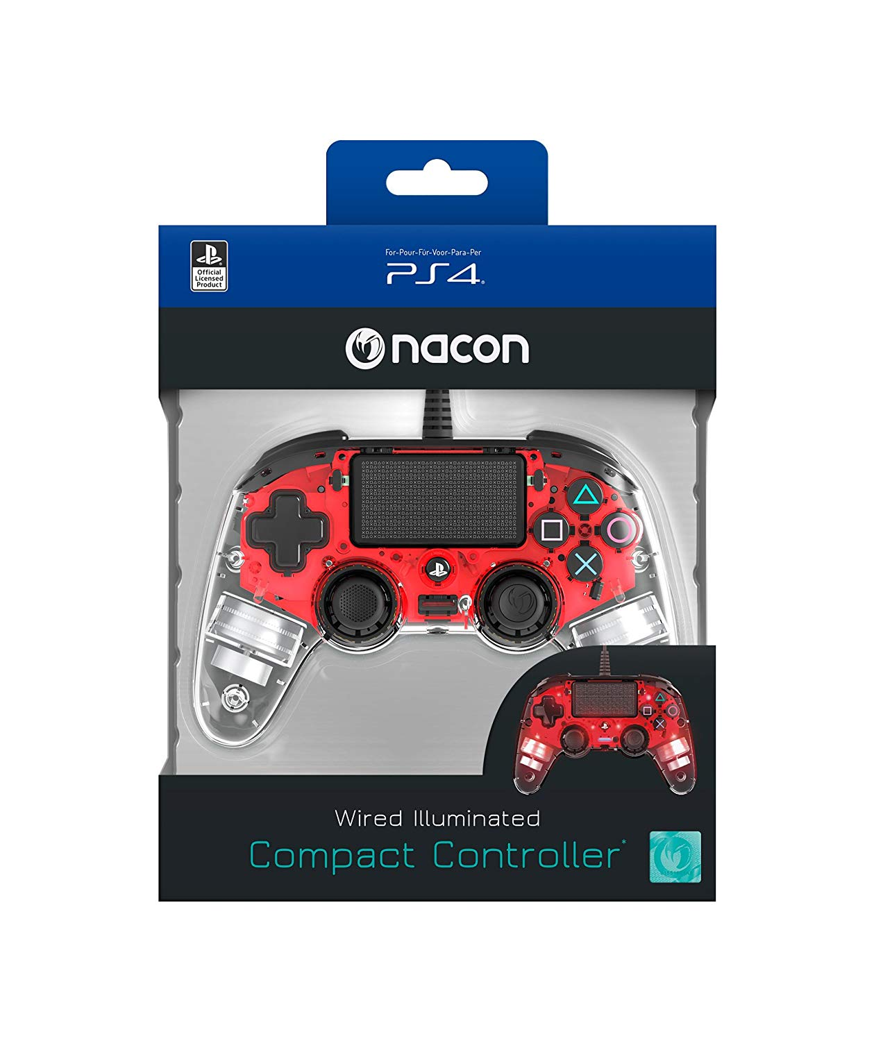 Nacon Compact Controller Light Edition Accessory PS4