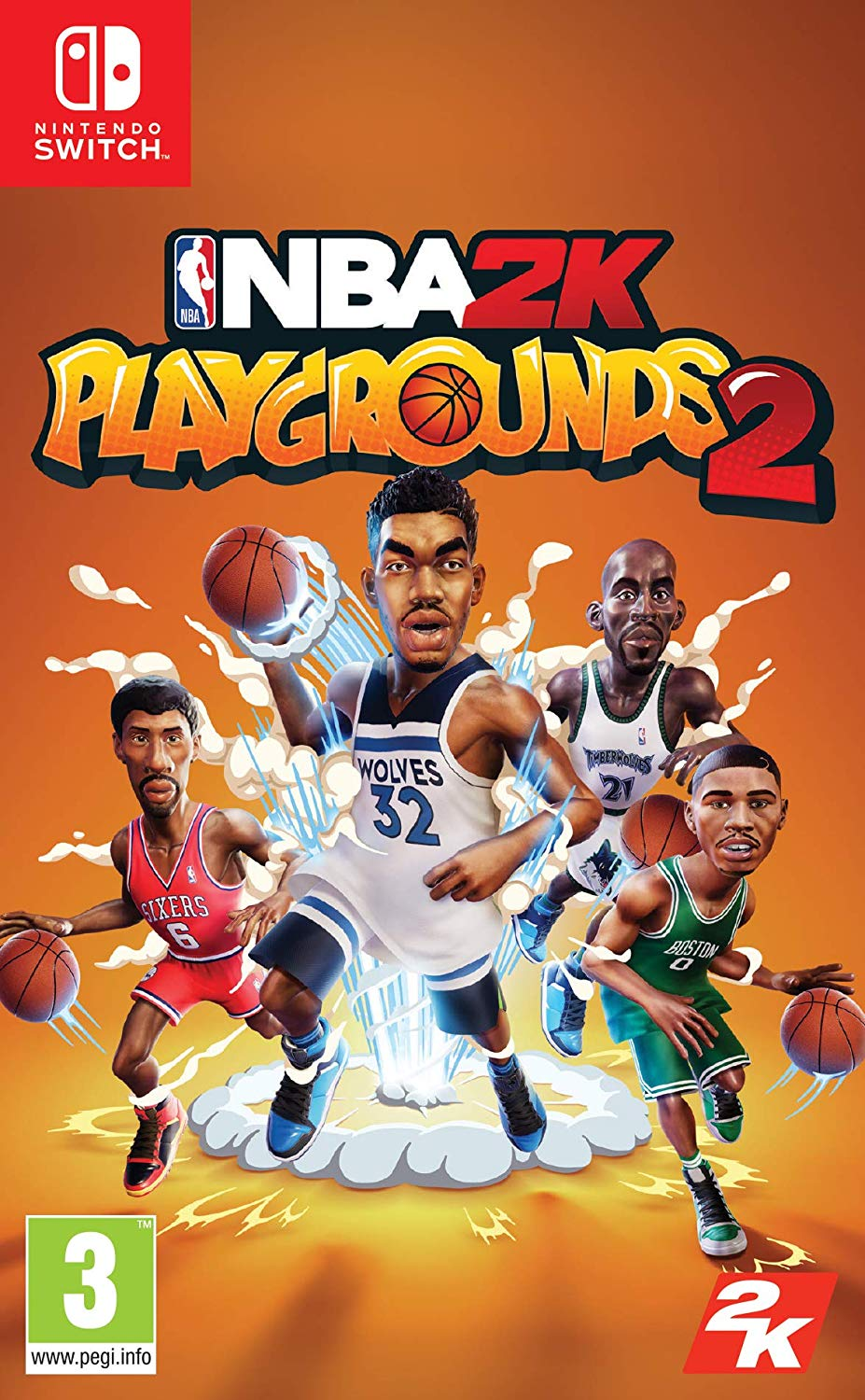 NBA 2K Playgrounds 2 Nintendo Switch, Nintendo Switch, DVDMEGASTORE, DVDMEGASTORE