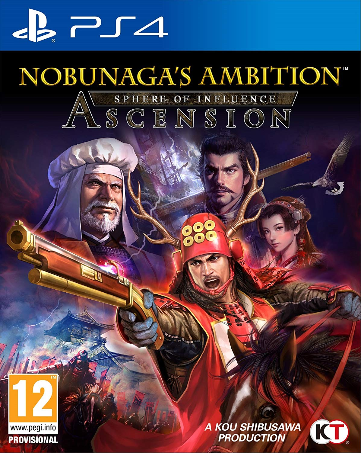 Nobunaga's Ambition: Sphere of Influence - Ascension PS4