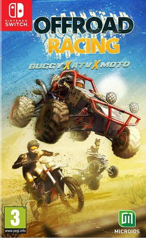 Off Road Racing - Nintendo Switch, Nintendo Switch, DVDMEGASTORE, DVDMEGASTORE